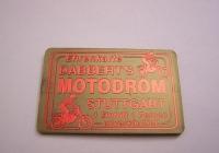 Motodrom Hugo Dabbert - Ehrenkarte in Bronze - Sonderkarte 75 Jahre Motodrom