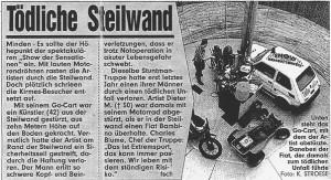 Dieter M. - Tödliche Steilwand