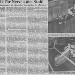 Die Original Motodrom Motorellos im Coburger Tagblatt 1990