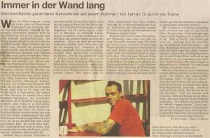 Don Strauss in der Süddeutschen Zeitung 2005